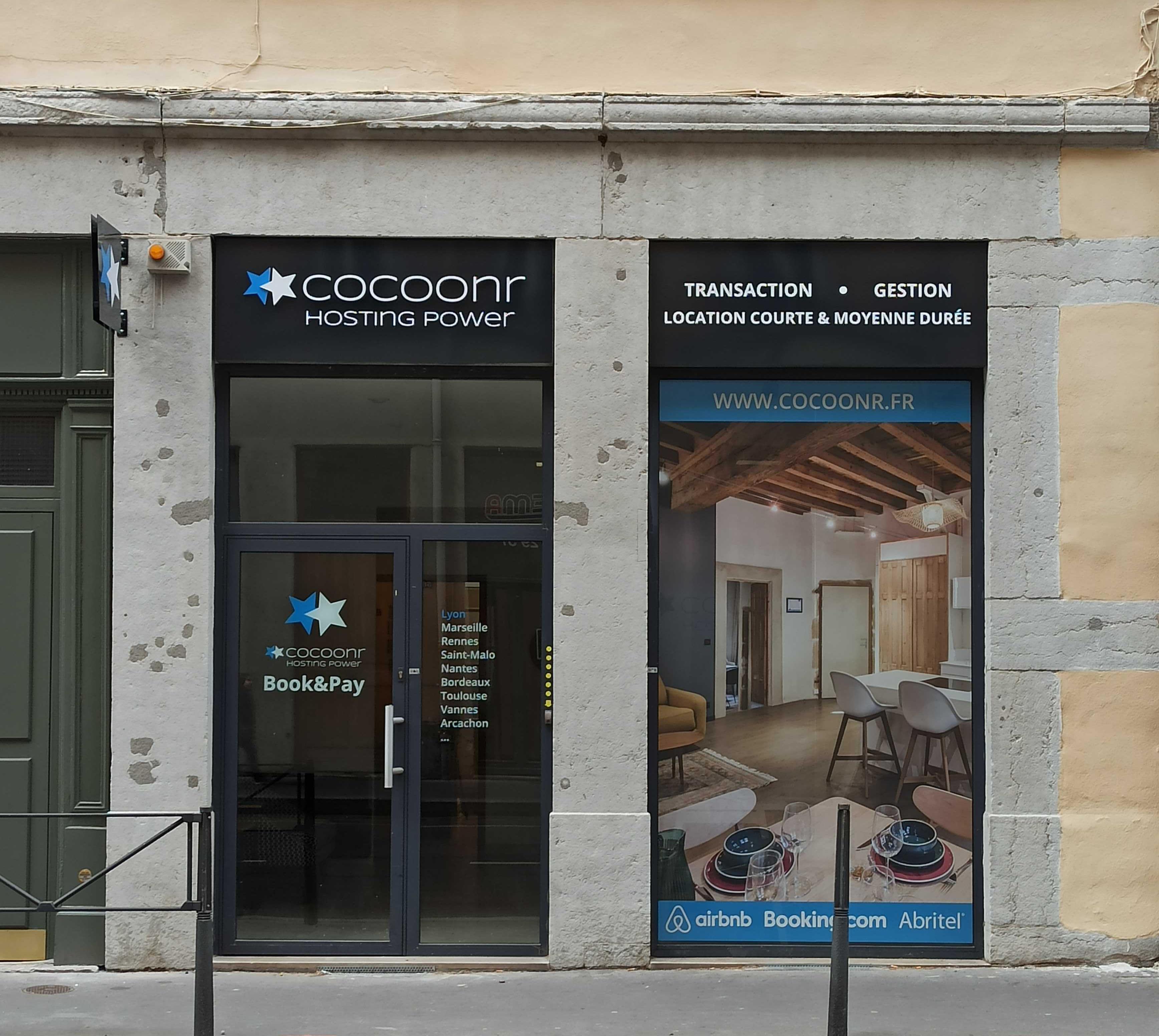Photo Agence Cocoonr - Conciergerie Airbnb à Lyon