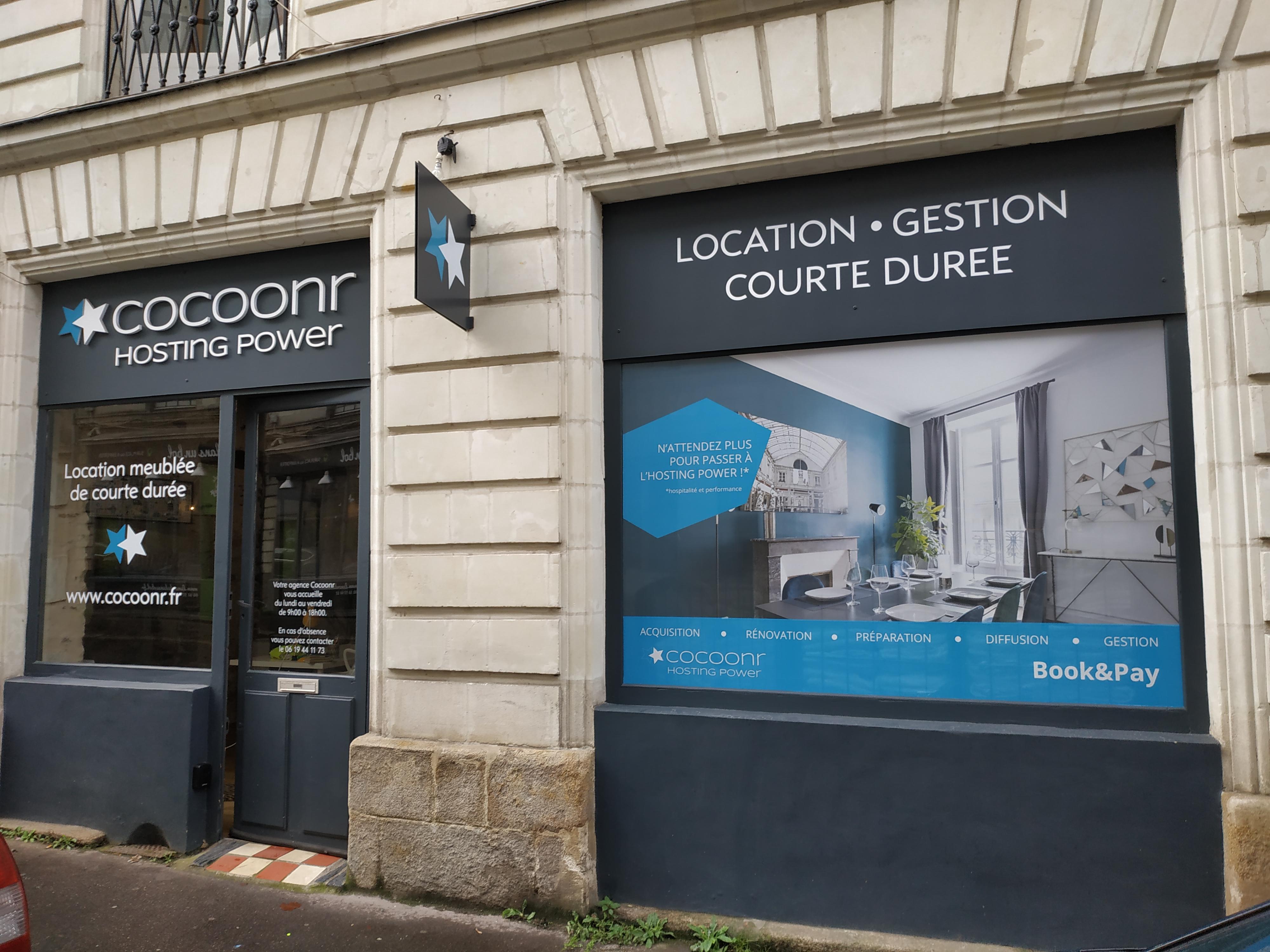 Photo Agence Cocoonr - Conciergerie Airbnb à Nantes