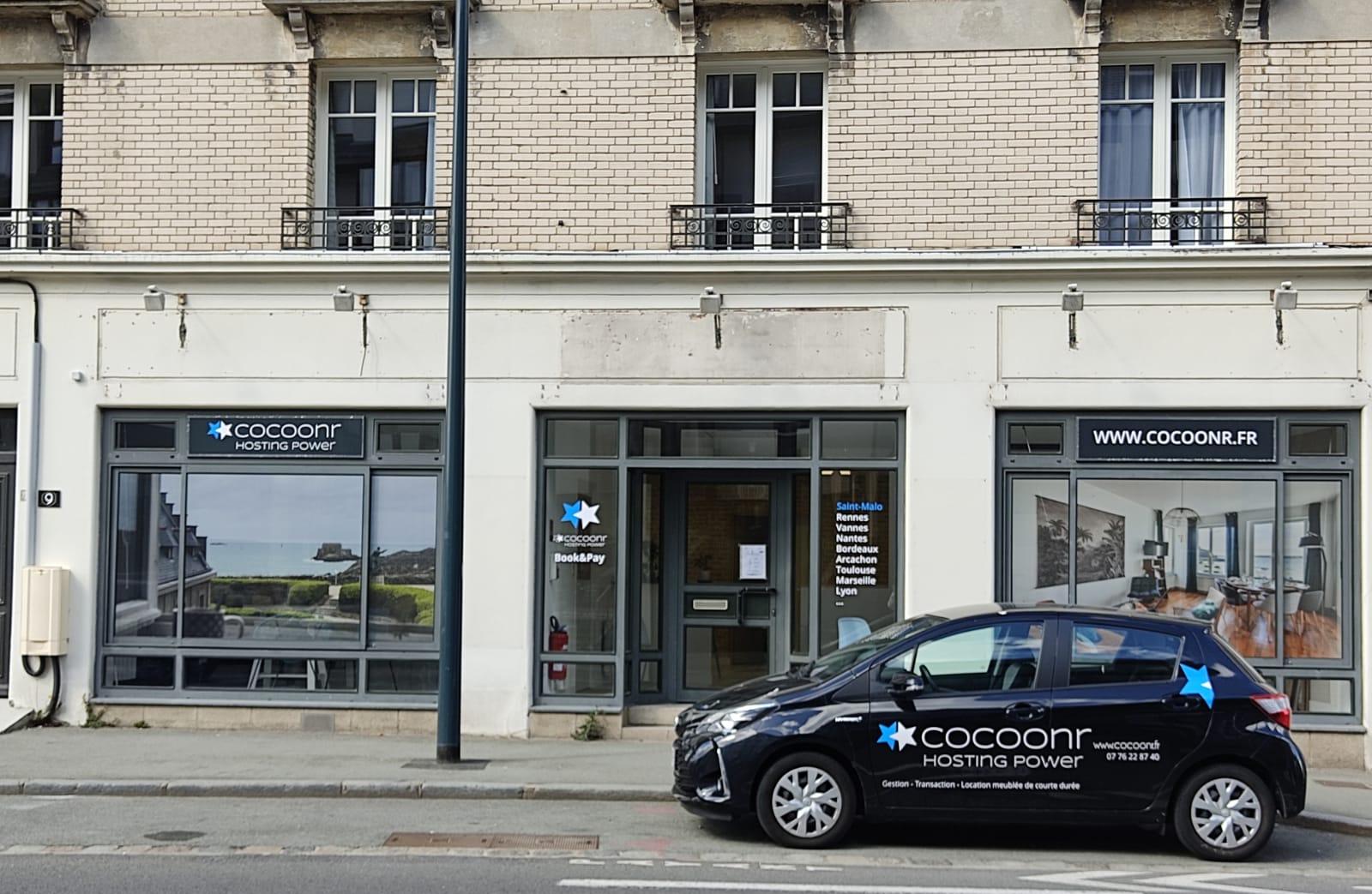 Photo Agence Cocoonr - Conciergerie Airbnb à Saint-Malo